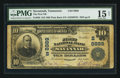 National Bank Notes:Tennessee, Savannah, TN - $10 1902 Plain Back Fr. 626 The First NB Ch. #(S)8889. ...
