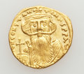 Ancients:Byzantine, Ancients: Constans II (AD 641-668). AV solidus (4.35 gm). ...