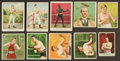 Boxing Cards:General, 1910-Era Boxing Tobacco Card Collection (24) With Rare T219 pair. ...