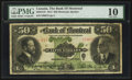 Canadian Currency: , Montreal, PQ- The Bank of Montreal $50 Nov. 3, 1914 Ch. # 505-54-16 . ...