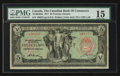 Canadian Currency: , Toronto, ON- The Canadian Bank of Commerce $5 Jan. 2, 1917 Ch. #75-16-04-02a . ...