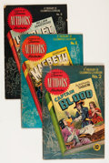 Golden Age (1938-1955):Classics Illustrated, Stories by Famous Authors Illustrated #1-13 Group (Seaboard Pub.,1950-51) Condition: Average GD.... (Total: 13 Comic Books)
