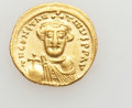 Ancients:Byzantine, Ancients: Constans II (AD 641-668). AV solidus (4.45 gm)....