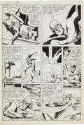Original Comic Art:Panel Pages, Jack Kirby and Joe Simon Adventures of the Fly #1 Page 4Original Art (Archie, 1959)....