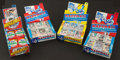 Baseball Cards:Lots, 1982 Topps Cello and Wax Pack Collection (108)...
