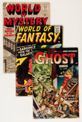 Golden Age (1938-1955):Horror, Comic Books - Assorted Golden Age Horror and Science Fiction Comics Group (Various Publishers, 1950s) Condition: Average GD.... (Total: 5 Comic Books)