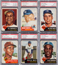Baseball Cards:Sets, 1953 Topps Baseball Mid-Grade Complete Set (274). ...