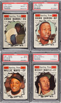 Baseball Cards:Sets, 1961 Topps Baseball Complete Set (587)....