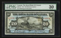 Canadian Currency: , Montreal, PQ- The Royal Bank of Canada $20 Jan. 2, 1913 Ch. #630-12-12 . ...
