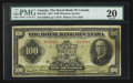 Canadian Currency: , Montreal, PQ- The Royal Bank of Canada $100 Jan. 3, 1927 Ch. # 630-14-20 . ...