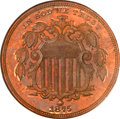 Patterns, 1875 5C Five Cents, Judd-1387, Pollock-1531, R.8, PR66 Red andBrown NGC. CAC....