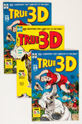 Golden Age (1938-1955):Adventure, True 3-D #1 and 2 File Copies Group (Harvey, 1953-54) Condition:Average VF/NM.... (Total: 6 Comic Books)