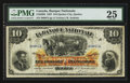 Canadian Currency: , Quebec City, PQ- La Banque Nationale $10 Jan. 2, 1897 Ch. #510-20-08. ...