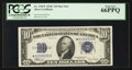 Small Size:Silver Certificates, Fr. 1704* $10 1934C Silver Certificate. PCGS Gem New 66PPQ.. ...