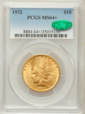 Indian Eagles: , 1932 $10 MS64+ PCGS. CAC. PCGS Population (8789/1241). NGC Census:(10815/2522). Mintage: 4,463,000. Numismedia Wsl. Price ...