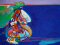 Western:Modern, JOHN NIETO (American, b. 1936). Hoop Dancer. Acrylic oncanvas. 30 x 40 inches (76.2 x 101.6 cm). Signed lower left:N...