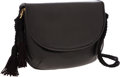 Luxury Accessories:Bags, Judith Leiber Black Lizard Small Clutch with Shoulder Strap. ...