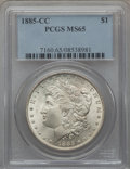 Morgan Dollars, 1885-CC $1 MS65 PCGS....