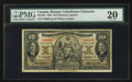 Canadian Currency: , Montreal, PQ- Banque Canadienne Nationale $10 Jan. 2, 1935 Ch. #85-14-04 . ...