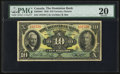 Canadian Currency: , Toronto, ON- The Dominion Bank $10 Jan. 3, 1938 Ch. # 220-28-04. ...