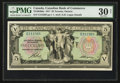 Canadian Currency: , Toronto, ON- The Canadian Bank of Commerce $5 Jan. 2, 1917 Ch #75-16-04-06a. ...