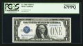 Small Size:Silver Certificates, Fr. 1604 $1 1928D Silver Certificate. PCGS Superb Gem New 67PPQ.. ...