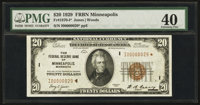 Fr. 1870-I* $20 1929 Federal Reserve Bank Note. PMG Extremely Fine 40