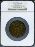 Expositions and Fairs, 1915 Panama-Pacific Exposition Medal of Award Medal MS61 NGC. 70.5mm, Bronze....
