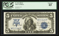 Large Size:Silver Certificates, Fr. 281 $5 1899 Silver Certificate PCGS Gem New 65.. ...