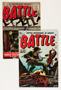 Golden Age (1938-1955):War, Battle #28 and 44 Group (Marvel, 1954-56) Condition: Average FN.... (Total: 2 Comic Books)