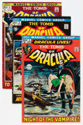 Bronze Age (1970-1979):Horror, Tomb of Dracula Group (Marvel, 1972-74) Condition: Average FN....(Total: 12 Comic Books)