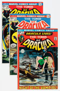 Bronze Age (1970-1979):Horror, Tomb of Dracula Group (Marvel, 1972-78) Condition: Average VF-....(Total: 29 Comic Books)