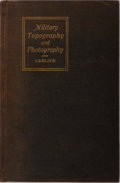 Books:Photography, [Photography] Floyd D. Carlock. Military Topography and Photography. Collegiate Press, 1918. First edition. Illu...