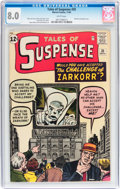 Silver Age (1956-1969):Mystery, Tales of Suspense #35 (Marvel, 1962) CGC VF 8.0 White pages....