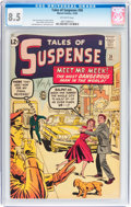 Silver Age (1956-1969):Science Fiction, Tales of Suspense #36 (Marvel, 1962) CGC VF+ 8.5 Off-whitepages....