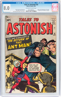 Tales to Astonish #35 (Marvel, 1962) CGC VF 8.0 Off-white to white pages