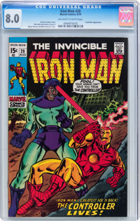 Iron Man #28 (Marvel, 1970) CGC VF 8.0 Off-white to white pages