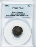 Proof Barber Dimes, 1902 10C PR65 PCGS....