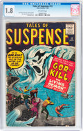 Silver Age (1956-1969):Horror, Tales of Suspense #12 (Marvel, 1960) CGC GD- 1.8 Off-whitepages....