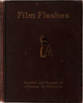 Books:Photography, [Photography] Film Flashes. The Wit and Humor of a Nation in Pictures. Leslie-Judge Company, 1916. First edition...