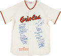 Autographs:Others, 1966 Baltimore Orioles Team Signed Jersey....