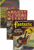 Pulps:Miscellaneous, Fantasy Magazine fanzine and Miscellaneous Pulp Group (Various, 1924-41). This lot consists of Science Wonder Quarterly ... (Total: 12 Items)