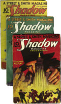 Pulps:Detective, Shadow (Pulp) Group (Street & Smith, 1933) Condition: Average GD/VG. Here is a complete run of bi-monthly Shadow pulps f... (Total: 24 Items)