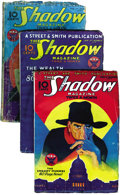Pulps:Detective, Shadow (Pulp) Group (Street & Smith, 1934) Condition: Average GD/VG. Here is a complete run of bi-monthly Shadow pulps f... (Total: 24 Items)