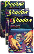 Pulps:Detective, Shadow (Pulp) Group (Street & Smith, 1937) Condition: AverageVG. This is a complete run of bi-monthly Shadow pulps for ...(Total: 24 Items)
