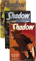 Pulps:Detective, Shadow (Pulp) Group (Street & Smith, 1939) Condition: AverageVG. This lot consists of a complete run of bi-monthly Shadow...(Total: 24 Items)