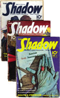 Pulps:Detective, Shadow (Pulp) Group (Street & Smith, 1940) Condition: Average GD/VG. Here is a complete run of bi-monthly Shadow pulps f... (Total: 24 Items)