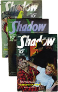 Pulps:Detective, Shadow (Pulp) Group (Street & Smith, 1941) Condition: AverageVG. This lot consists of a complete run of bi-monthly Shadow...(Total: 24 Items)
