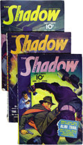 Pulps:Detective, Shadow (Pulp) Group (Street & Smith, 1942) Condition: AverageGD/VG. Here is a complete run of bi-monthly Shadow pulps f...(Total: 24 Items)