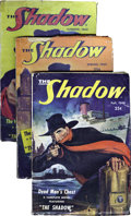 Pulps:Detective, Shadow (Pulp) Group (Street & Smith, 1948-49) Condition:Average VG-. This lot includes the last four issues of thislong-ru... (Total: 4 Items)